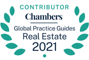 Chambers 2021 Real Estate Guide badge